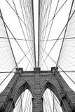 Puente de Brooklyn en Nueva York Imagenes de archivo
