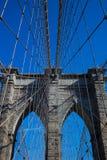Puente de Brooklyn en Nueva York imágenes de archivo libres de regalías