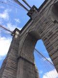 Puente de Brooklyn majestuoso Foto de archivo