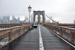 Puente de Brooklyn Manhattan, jork nowy fotografía de archivo