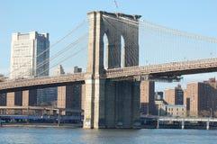 Puente de Brooklyn, New York City Imagen de archivo
