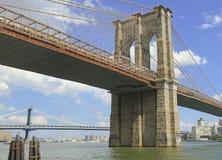 Puente de Brooklyn, New York City foto de archivo libre de regalías