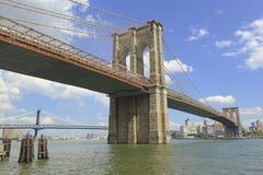 Puente de Brooklyn, New York City fotos de archivo libres de regalías