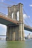 Puente de Brooklyn, New York City imágenes de archivo libres de regalías