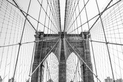 Puente de Brooklyn New York City NYC foto de archivo libre de regalías