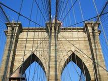 Puente de Brooklyn, Nueva York imágenes de archivo libres de regalías