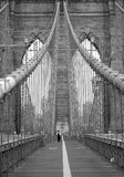 Puente de Brooklyn Nueva York imagenes de archivo