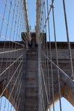 Puente de Brooklyn, Nueva York Fotos de archivo