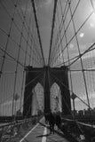 Puente de Brooklyn Nueva York Imagen de archivo libre de regalías