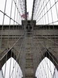 Puente de Brooklyn Nueva York Fotos de archivo libres de regalías