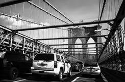 Puente de Brooklyn, Nueva York, los E imagen de archivo libre de regalías