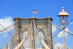 Puente de Brooklyn, NY Imágenes de archivo libres de regalías