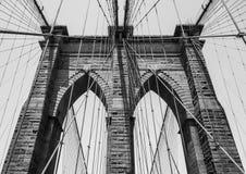 Puente de Brooklyn NY Imágenes de archivo libres de regalías