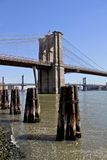 Puente de Brooklyn NYC Fotografía de archivo