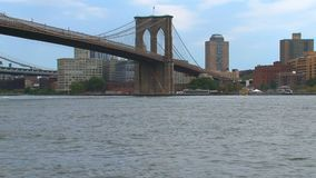 Puente de Brooklyn NYC almacen de video