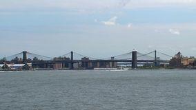 Puente de Brooklyn NYC metrajes