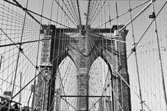 Puente de Brookyn foto de archivo libre de regalías