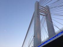 Puente de Bucarest Basarab imagenes de archivo