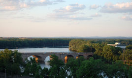 Puente de Bulkeley imagen de archivo libre de regalías