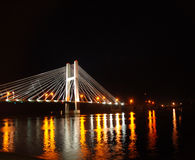 Puente de Burlington Fotografía de archivo libre de regalías