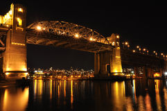Puente de Burrard Fotos de archivo