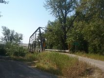 Puente de caballete imagen de archivo
