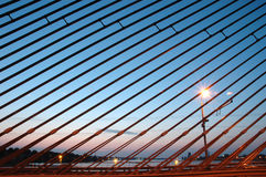 Puente de cable Imagen de archivo