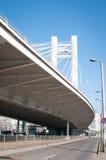 Puente de cable moderno Fotografía de archivo libre de regalías