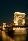 Puente de cadena Imágenes de archivo libres de regalías