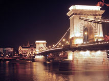 Puente de cadena Imagen de archivo libre de regalías