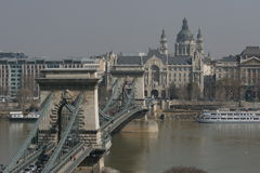 Puente de cadena Imagen de archivo