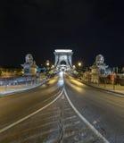 Puente de cadena Imagenes de archivo