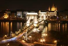 Puente de cadena Fotos de archivo