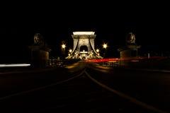 Puente de cadena Fotos de archivo libres de regalías