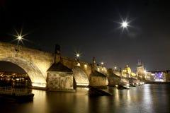 Puente de Carls en Praga Imagenes de archivo