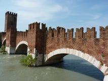 Puente de Castelvecchio Fotografía de archivo libre de regalías