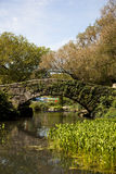 Puente de Central Park Fotografía de archivo libre de regalías