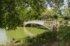Puente de Central Park Imágenes de archivo libres de regalías