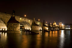 Puente de Charles Imagenes de archivo