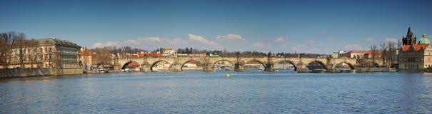 Puente de Charles Imágenes de archivo libres de regalías