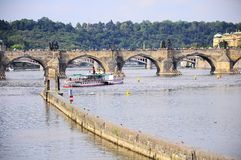 Puente de Charles. Fotos de archivo