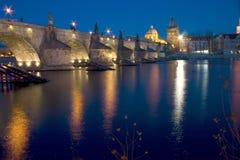 Puente de Charles en Praga imágenes de archivo libres de regalías