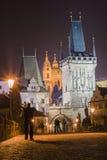 Puente de Charles en Praga Imagenes de archivo