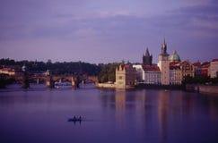 Puente de Charles en Praga Fotografía de archivo libre de regalías