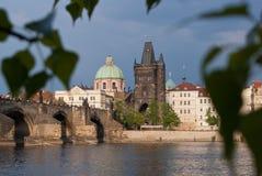 Puente de Charles, Praga Imagenes de archivo