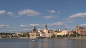 Puente de ChaRTes, Praga almacen de metraje de vídeo