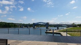 Puente de Chattanooga Foto de archivo libre de regalías