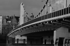 Puente de Chelsea Foto de archivo libre de regalías