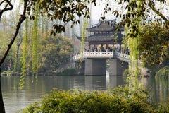Puente de China Foto de archivo libre de regalías