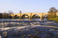 Puente de Chollerford imágenes de archivo libres de regalías